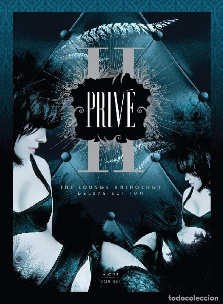 PRIVE II* BOX 6CD * THE LOUNGE ANTHOLOGY DELUXE EDITION VOL.2 * LTD DIGIPACK * PRECINTADO!! (Música - CD's New age)