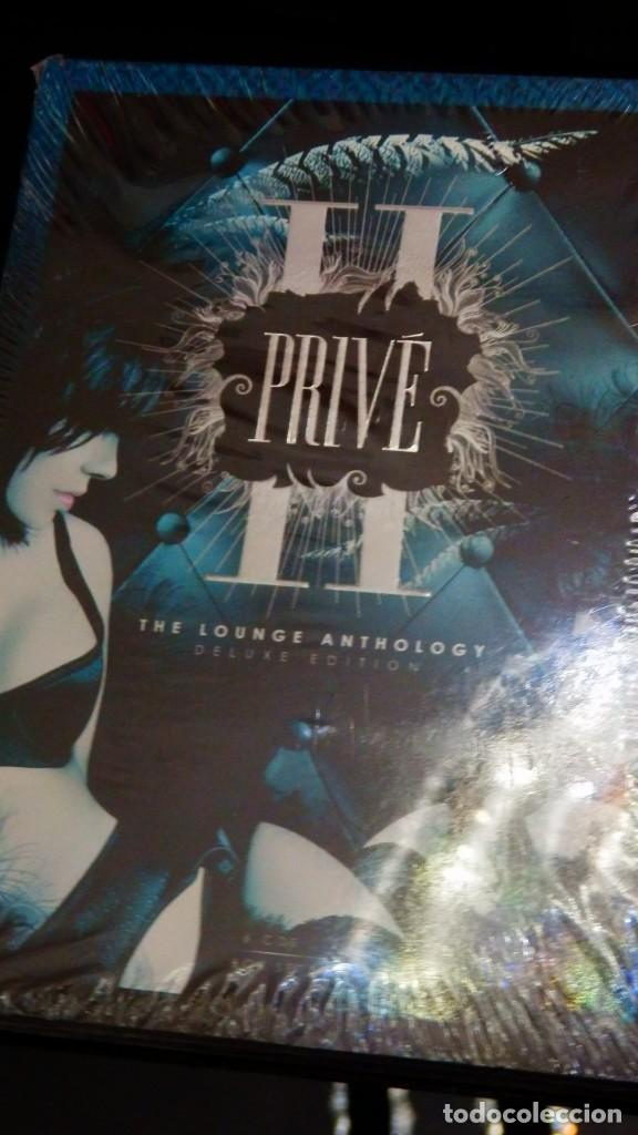 CDs de Música: PRIVE II* BOX 6CD * the Lounge Anthology Deluxe edition Vol.2 * LTD DIGIPACK * PRECINTADO!! - Foto 2 - 216885093