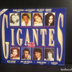 CDs de Música: DOBLE CD / GIGANTES 2 . GLORIA ESTEFAN JULIO IGLESIAS ANA BELEN PERALES ...PEPETO. Lote 216935150