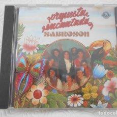 CDs de Música: ORQUESTA ENCANTADA. SABROSON. COMPACTO CON 5 CANCIONES Y 2 POUTPURRIS.. Lote 216967066