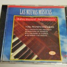 CDs de Música: MICHAEL NYMAN – EL PIANO CONCERTO Y OTROS TEMAS. Lote 216972178