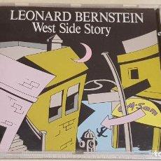 CDs de Música: LEONARD BERNSTEIN / WEST SIDE STORY / CD - CD RECORDS-1993 / CALIDAD LUJO.. Lote 216981962