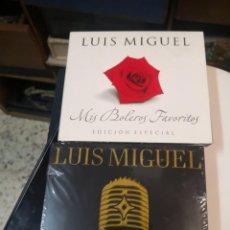 CDs de Música: 2 CD MÚSICA BOLEROS Y GRANDES ÉXITOS(SIN ABRIR) DE LUIS MIGUEL. Lote 216983182