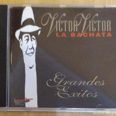 CDs de Música: VICTOR VICTOR (LA BACHATA - GRANDES EXITOS) CD 1995. Lote 217001853