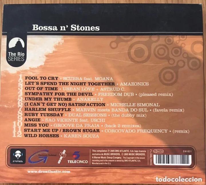 CDs de Música: Bossa NStones * CD * The Electro-Bossa Songbook Of The Rolling Stones * Nuevo - Foto 2 - 217013973