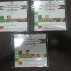 CDs de Música: 3 CD A ESTRENAR, I MASTER EN DIRECCIÓN Y GESTIÓN. DE CHIRIGOTAS, ANTOLOGIA. Lote 217020613