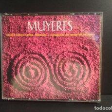 CDs de Música: MUYERES I DOBLE CD DANCES , BAILES, ROMANCES Y CANTARES ASTURIES 1994 ASTURIAS PEPETO. Lote 217032603