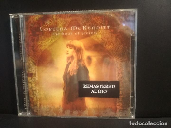 LOREENA MCKENNITT - THE BOOK OF SECRETS - CD DVD LIMITED EDITION 1997 PEPETO (Música - CD's New age)