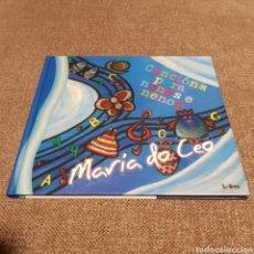 CDs de Música: MARÍA DO CEO 'CANCIÓNS PARA NENAS E NENOS' DISCO LIBRO ¡NUEVO!. Lote 217047596