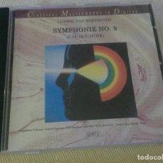 CDs de Música: CD CLASSICAL MASTERWORKS IN DIGITAL BEETHOVEN SINFONIA Nº 9. Lote 217092668