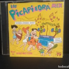 CDs de Música: DOBLE CD LOS PICAPIEDRA MIX - QUIQUE ROCA TEJADA MIXED : ICE MC, RYAN PARIS, RAMIREZ, SKORIA,PEPETO. Lote 217112718