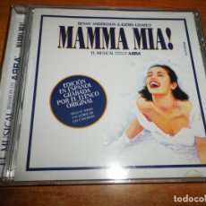 CDs de Música: MAMMA MIA ABBA EL MUSICAL EN ESPAÑOL ELENCO ORIGINAL CD PROMO 2005 NINA ALBERTO VAZQUEZ 24 TEMAS. Lote 228332850