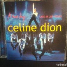 CDs de Música: CÉLINE DION - NEW DAY LIVE CD + DVD LIVE IN LAS VEGAS 2004 PEPETO. Lote 217176131