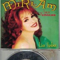 CDs de Música: MIRIAM Y LAS CHICAS - LA LOBA (CDSINGLE CAJA, KAREN RECORDS 1993). Lote 217192533