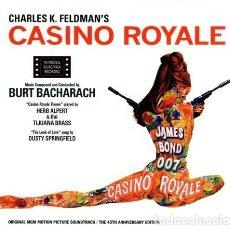 CDs de Música: BURT BACHARACH - CASINO ROYALE - 2×CD, ALBUM, LIMITED EDITION, SLIPCASE, BOOK.. Lote 217194566