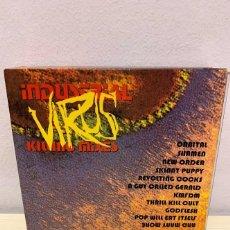 CDs de Música: INDUSTRIAL VIRUS KILLING MIXES. Lote 217215510