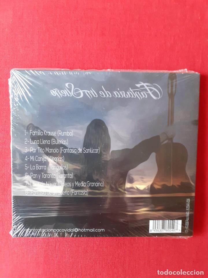 CDs de Música: FANTASIA DE UN SUEÑO. PACO VIDAL (PRECINTADO) - Foto 2 - 217264530