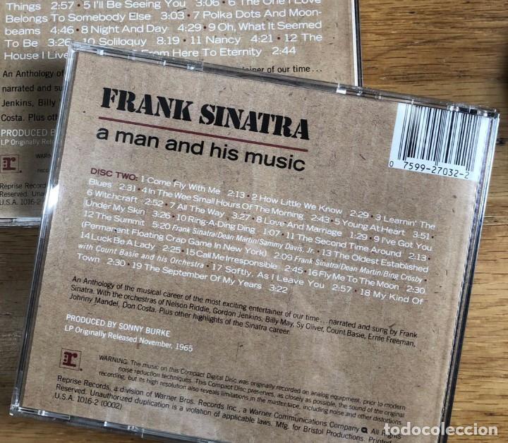 CDs de Música: FRANK SINATRA - A MAN AND HIS MUSIC. DISC TWO (CD) - Foto 2 - 217281012