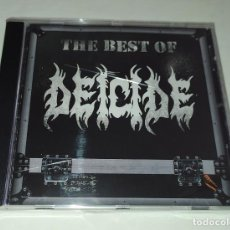 CDs de Música: CD DEICIDE - THE BEST OF. Lote 217281033