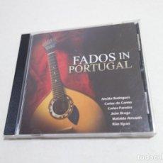 CDs de Música: CD MÚSICA FADOS IN PORTUGAL. AMALIA RODRIGUES.CARLOS DO CARMO. CARLOS PAREDES. MAFALDA ARNAUTH .... Lote 217289277