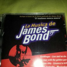 CDs de Música: LA MUSICA DE JAMES BOND. Lote 217292486