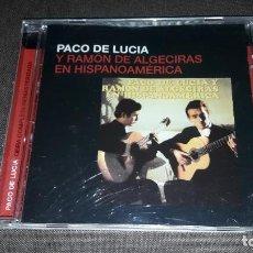 CDs de Música: PACO DE LUCIA Y RAMON DE ALGECIRAS EN HISPANOAMERICA. EDICION DE 2005.. Lote 217300632