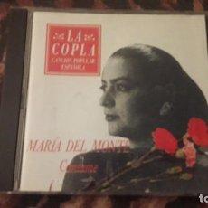 CDs de Música: MARÍA DEL MONTE. CANTAME. EDICION DE 1991.. Lote 217401305