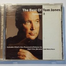 CDs de Música: TOM JONES. - THE BEST OF TOM JONES. VOLUME VOL. 2. TDKCD29. Lote 217430152