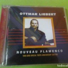 CDs de Música: CD, OTTMAR LIEBERT, NOVEAU FLAMENCO , 18 TEMAS, VER FOTOS. Lote 217468421