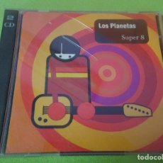 CDs de Música: DOBLE CD , LOS PLANETAS, SUPER 8 ,VER FOTOS. Lote 217486368