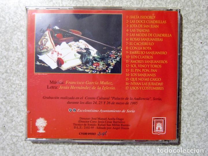 CDs de Música: CANCIONES SANJUANERAS.BANDA MUNICIPAL DE SORIA-CORAL DE SORIA...VOL 1 Y 2...MUY RAROS - Foto 3 - 217506892