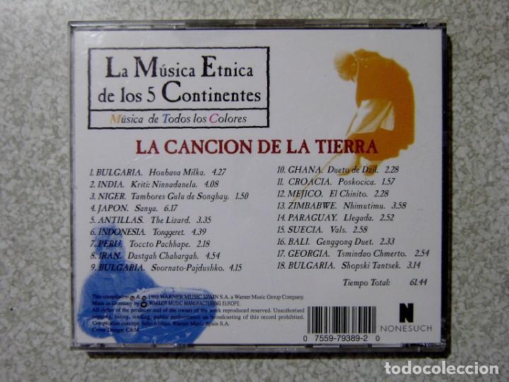 CDs de Música: LA CANCION DE LA TIERRA.LA MUSICA ETNICA DE LOS 5 CONTINENTES - Foto 2 - 217506962