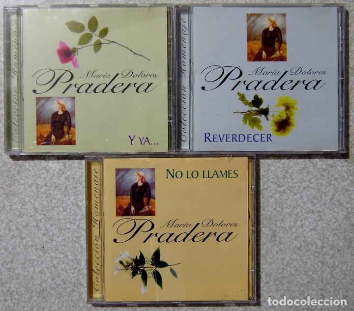 MARIA DOLORES PRADERA.REVERDECER-Y YA--NO LO LLAMES...LOTE 3 CD´S (Música - CD's Melódica )