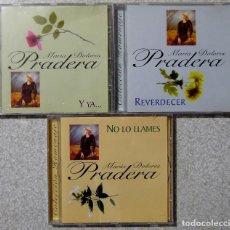 CDs de Música: MARIA DOLORES PRADERA.REVERDECER-Y YA--NO LO LLAMES...LOTE 3 CD´S. Lote 217509358