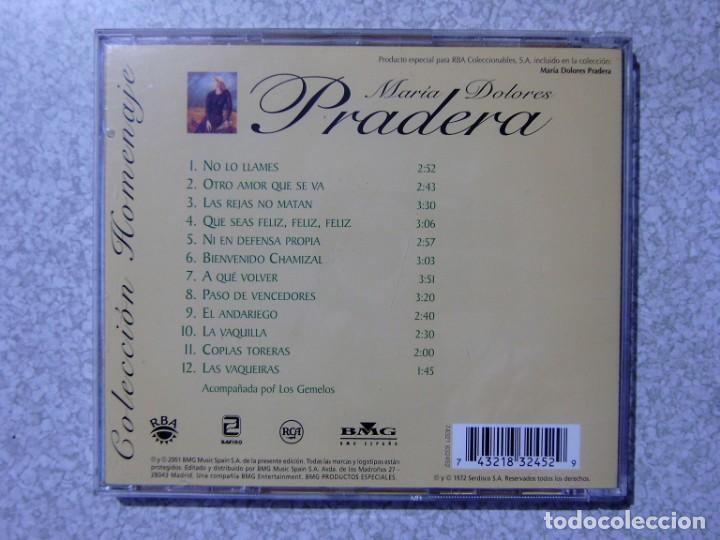 CDs de Música: MARIA DOLORES PRADERA.REVERDECER-Y YA--NO LO LLAMES...LOTE 3 CD´S - Foto 4 - 217509358
