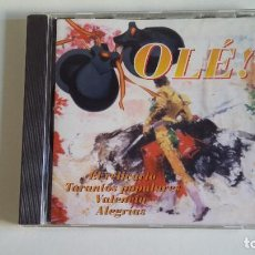CDs de Música: OLE! EL RELICARIO. TARANTOS POPULARES. VALENCIA. ALEGRIAS. CD. TDKCD29. Lote 217512935