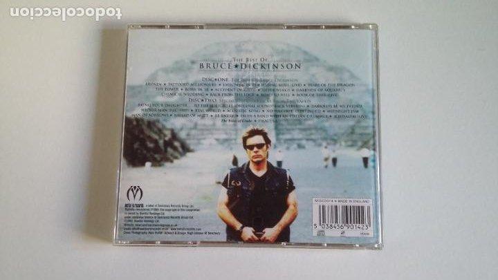 CDs de Música: THE BEST OF BRUCE DICKINSON. 2 CD SET. DOBLE CD. TDKCD29 - Foto 3 - 217514458