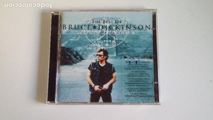 THE BEST OF BRUCE DICKINSON. 2 CD SET. DOBLE CD. TDKCD29 (Música - CD's Rock)