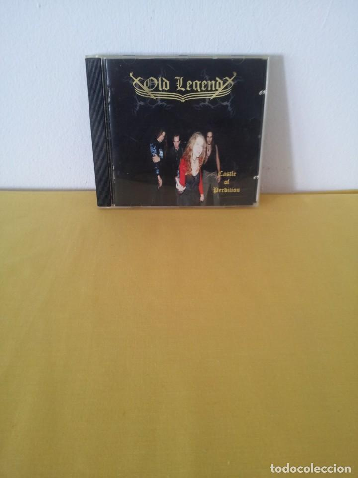 OLD LEGEND - CASTLE OF PERDITION - CD, 2009 (Música - CD's Heavy Metal)