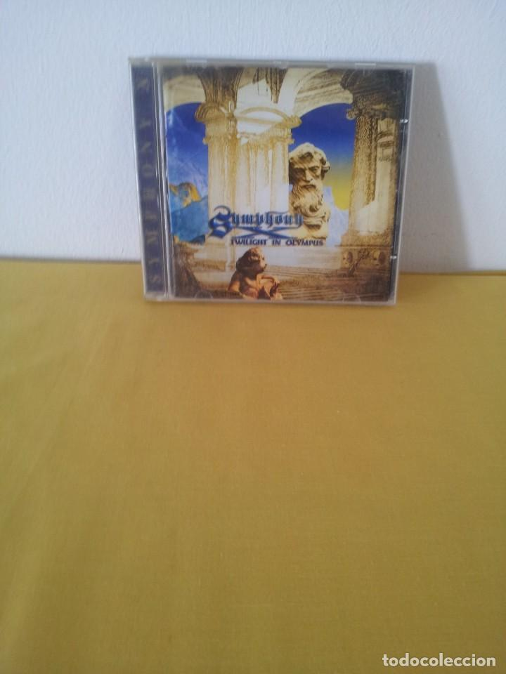 SYMPHONY X - TWILIGHT IN OLYMPUS - CD, INSIDE OUT MUSIC 1998 (Música - CD's Heavy Metal)