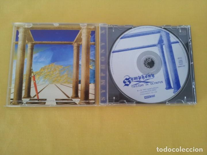 CDs de Música: SYMPHONY X - TWILIGHT IN OLYMPUS - CD, INSIDE OUT MUSIC 1998 - Foto 3 - 217527255