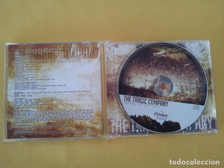 CDs de Música: THE TRAGIC COMPANY - ENIGMA OF THE SOUL - CD, WILD PUNK RECORDS 2015 - Foto 3 - 217527955