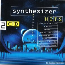 CDs de Música: SYNTHSATION - SYNTHESIZER HITS - 2X CD. Lote 217544997