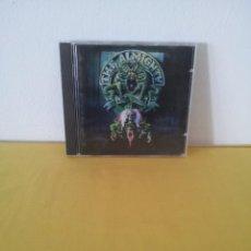 CDs de Música: THE ALMIGHTY - SOUL DESTRUCTION - CD, POLYDOR 1991. Lote 217545220