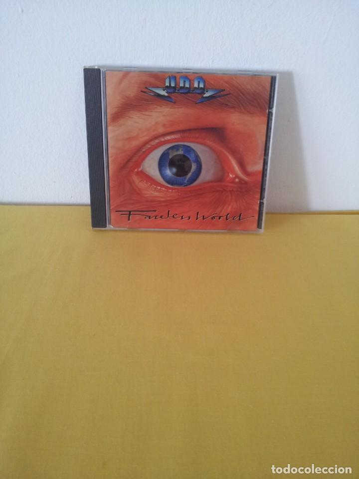 U.D.O - FACELESS WORLD - CD, BMG ARIOLA 1990 (Música - CD's Heavy Metal)