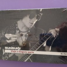 CDs de Música: GENIAL. CD LIBRO VIAJE A NINGUNA PARTE - ENRIQUE BUNBURY - COLECCIÓN EL PAIS - NUEVO/PRECINTADO.. Lote 217554185