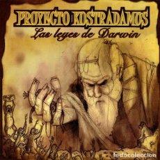CDs de Música: PROYECTO KOSTRADAMUS - LAS LEYES DE DARWIN. Lote 217562961