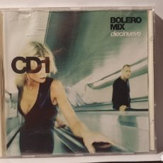 CDs de Música: CD/ BOLERO MIX/ DIECINUEVE/(REF.P.2). Lote 217584965