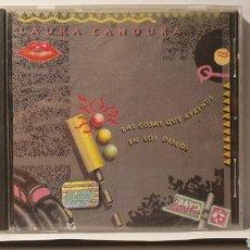 CDs de Música: CD/ LAURA CANOURA/ LAS COSAS QUE APRENDI EN LOS DISCOS/ (REF.P.2). Lote 217584998