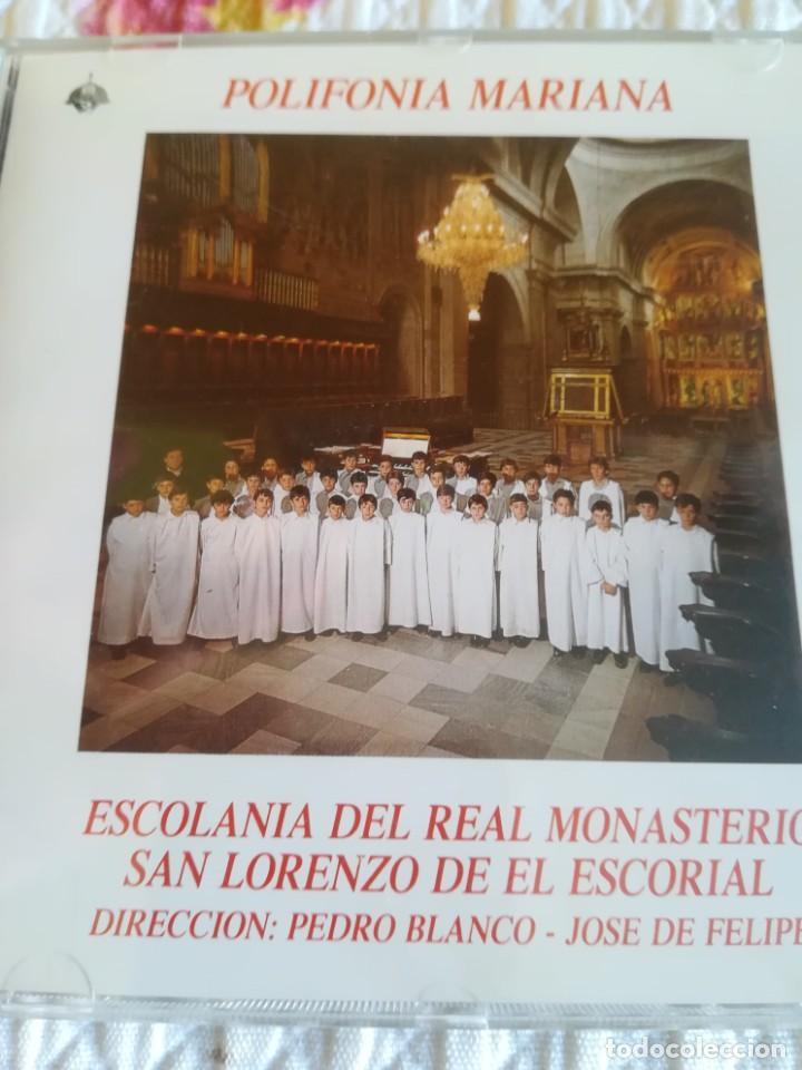 ESCOLANIA DEL REAL MONASTERIO DE EL ESCORIAL - POLIFONIA MARIANA. (Música - CD's Clásica, Ópera, Zarzuela y Marchas)
